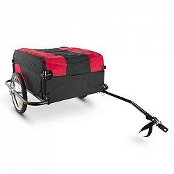 DURAMAXX Mountee, 130 l, 60 kg, príves na bicykel, nákladný vozík, oceľová tyč