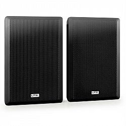 Dvojica extrémne plochých reproduktorov LTC SSP501F-W, black