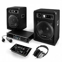 Electronic-Star Bass Boomer, PA systém, set zosilňovača, reproduktorov a mikrofónov