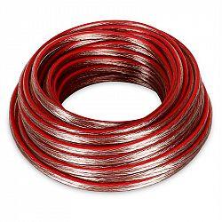 Electronic-Star Reproduktorový kábel 2 x 1,5 mm2, priehľadný, 10 m / + Kz