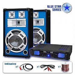 "Electronic-Star Reproduktorový set Blue Star Series ""Basskick"