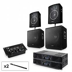 Electronic-Star Sada 2.2 PA systému s 2 x zosilňovačom, 2 x 15
