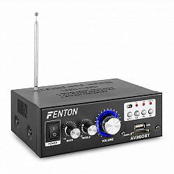 Fenton AV360BT, stereo zosilňovač, 80 W RMS, (2 x 40 W na 8 Ohm), BT/USB/SD/AUX