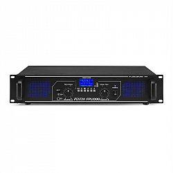Fenton FPL1000, digitálny zosilňovač, 2 x 500 W, BT, prehrávač médií, USB port, SD slot