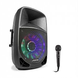 Fenton FT1500A, aktívny reproduktor, 350 W, bluetooth + mikrofón, čierny