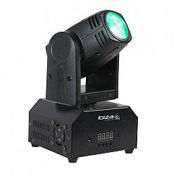 Ibiza LMH250-RC, otočná hlava, pohyblivá hlavica, Moving Head, 10 W CREE LED RGBW 4 v1, DMX, diaľkový ovládač