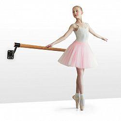 KLARFIT Barre Mur, baletná tyč, 110 cm, žrď 38 mm Ø, nástenná montáž, čierna