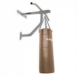 KLARFIT Big Punch, zdvíhacia hrazda a boxovacie vrece, 350 kg max., montážny materiál