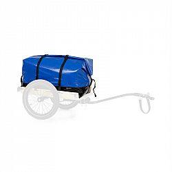KLARFIT Companion Travel Bag, transportná taška, 120 litrov, nepremokavá, rolovacia vrchná časť, PU, modrá