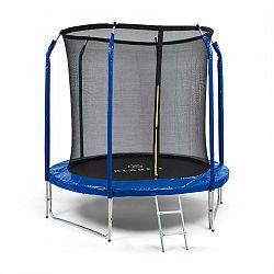 KLARFIT Jumpstarter, trampolína, 2,5 m Ø, sieť, 120 kg max., tmavomodrá