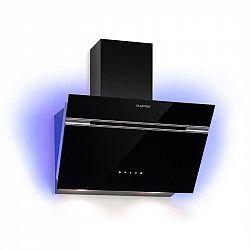 Klarstein Alina, odsávač pár, 60 cm, 600 m³/h, LED displej, svetlo, čierny
