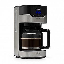 Klarstein Arabica 1.5, kávovar, 1.5 l, EasyTouch Control, strieborný/čierny