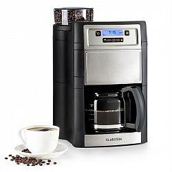 Klarstein Aromatica II, kávovar, integrovaný mlynček, 1.25 l, strieborný