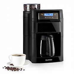 Klarstein Aromatica II Thermo, kávovar, integrovaný mlynček, 1.25 l, čierny