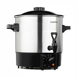 Klarstein Biggie Eco zavárací hrniec & dávkovač nápojov, 1000 W, 30 – 100 °C, výčapný kohút, 9 l
