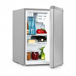 Klarstein Cool Kid, mini chladnička so 4 l mraziacim priečinkom, 66 l, 42 dB, A+, ušľachtilá oceľ, kartáčovaná
