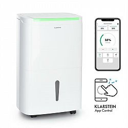 Klarstein DryFy Connect 50, odvlhčovač vzduchu, WiFi, kompresia, 50l/d, 45-55m², biely
