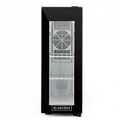 Klarstein Frosty, chladiaca vinotéka, 13 l, 8-18 °C, sklené dvierka, 35 dB, čierna