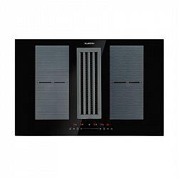 Klarstein Full House Down Air System, indukčná varná doska + digestor, čierna