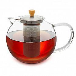 Klarstein Glaswerk Sencha, kanvica na čaj, 1,8 l, sitko z ušľachtilej ocele, borosilikátové sklo, vrchnák