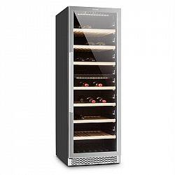 Klarstein Gran Reserva, chladnička na víno, 379 litrov, 166 fliaš vína, 2 zóny, dotyková