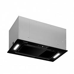 Klarstein Hektor Eco, vstavaný digestor, 52 cm, 566 m³/h, dotykový, sklo, čierny