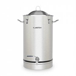 Klarstein Maischfest, fermentačný kotol, 25 litrov, kvasná rúrka, nerezová oceľ 304