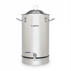 Klarstein Maischfest, fermentačný kotol, 30 litrov, kvasná rúrka, nerezová oceľ 304