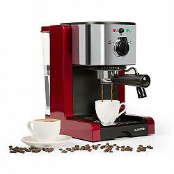 Klarstein Passionata Rossa 15, espresso kávovar, 15 barov, capuccino, mliečna pena, červený
