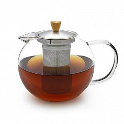 Klarstein Sencha, kanvica na čaj, 1,3 l, sitko z ušľachtilej ocele, borosilikátové sklo, vrchnák