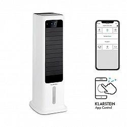 Klarstein Skytower 360° Smart, ochladzovač vzduchu, 60 W, 450 m³/h, 6 litrov, prenosný