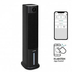 Klarstein Skytower Grand Smart, ochladzovač vzduchu, 80 W, 480 m³/h, 8 litrov, prenosný