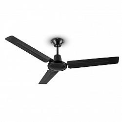 Klarstein Spin Doctor, stropný ventilátor, 55 W, 122 cm, 3 ramená, nehrdzavejúca oceľ, čierny