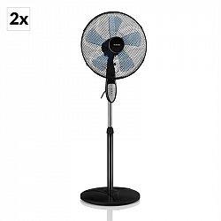 Klarstein Summerjam, stojanový ventilátor, sada 2 ks, 41 cm (16