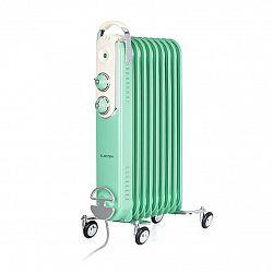 Klarstein Thermaxx Retroheat, olejový radiátor, 2000 W, kolieska, zelený