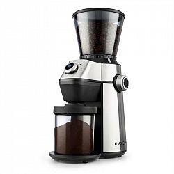 Klarstein Triest, mlynček na kávu, kužeľové mlecie teleso, 150W, 300g, 15 mlecích stupňov, nerezová oceľ
