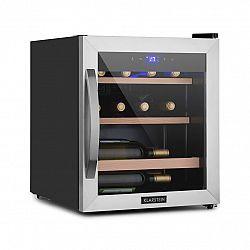 Klarstein Vinetage 12 Uno, chladnička na víno, 12fl.46l, 4-18°C, 40dB, sklo