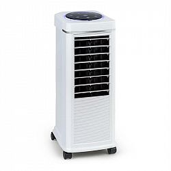 Klarstein Windspiel, chladič vzduchu, 100 W, 12-hod. časovač, diaľkový ovládač, biely