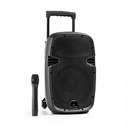 Malone Bushfunk 25, aktívny PA reproduktor, 500 W, bluetooth, akumulátor, USB, SD, MP3, VHF