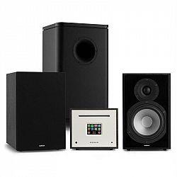 Numan Unison Reference 802 Edition, stereo systém, zosilňovač, reproduktory, čierna
