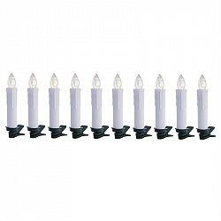 OneConcept Eternal Flame 10 LED vianočných svetielok, teplá biela, diaľkové ovládanie