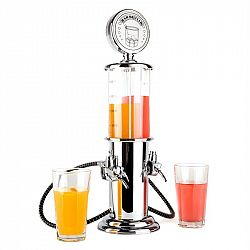 OneConcept Hazzlehov Duett Bar Butler, 2 x 450 ml