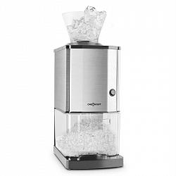 OneConcept Icebreaker, drvič ľadu s výkonom 15kg/h, objemom 3,5l, zásobníkom na ľad, nerezová oceľ