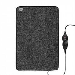 OneConcept Magic-Carpet DX, výhrevná rohožka, výhrevný koberček, 3 výhrevné stupne, 60 x 40 cm, 75 W