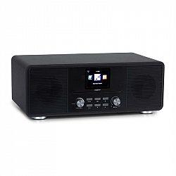 OneConcept Streamo CD, internetové rádio, 2 x 10 W, WLAN, DAB+, FM, CD prehrávač, BT, čierne
