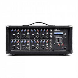 Power Dynamics 8-kanálový mixér so zosilňovačom PDM-C805A, USB a SD slot
