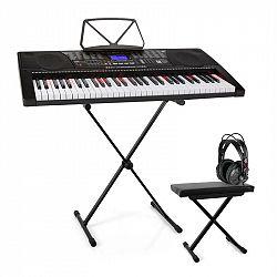 SCHUBERT Etude 225, USB keyboard so slúchadlami, stojan na keyboard a lavička