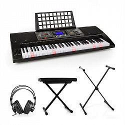 SCHUBERT Etude 450, set nácvičný elektronický klavír, štúdiové slúchadlá, stojan na klavír, stolička