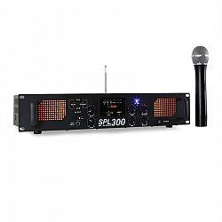 Skytec SPL 300VHF, 300 W, zosilňovač, USB, SD, MP3