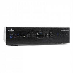 Stereo zosilňovač Auna CD708, AUX phono, čierny, 600 W